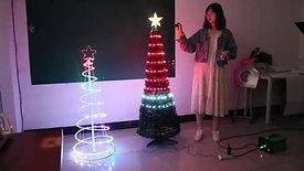 LED Foldable Christmas Tree  (4)