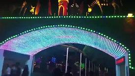 ANPU MOTIF LIGHTING manufacturer LED Curtain Pixel Screen (3)