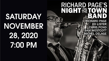 Richard Page's Night on the Town Band