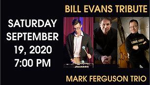 Bill Evans Tribute Concert Oct/2020