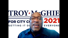 City Council Candidate Troy McGhie - 49th District