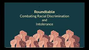Combating Racism and Intolerance - 3.26.21 Roundtable