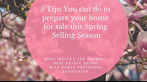 5 Tips you can do to your home for sale this spring