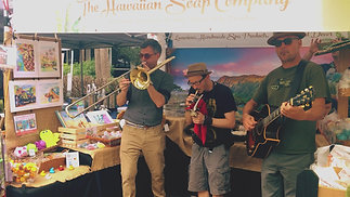 A Jazz Band Plays at The Hawaiian Soap & Trading Company™
