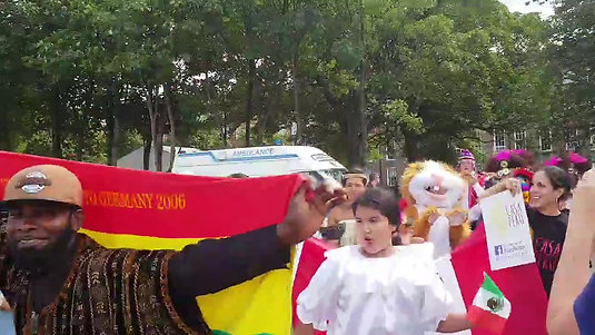 Festival of Nations 2018 Parade