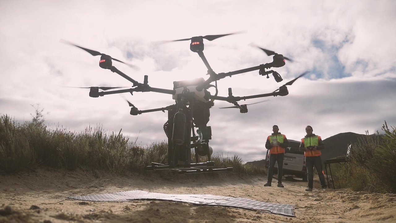 AirSeed Technologies Tree Planting Drones