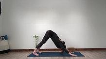 Flow Yoga to balance upper chakras