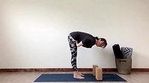 Standing Forward Fold Pose TT