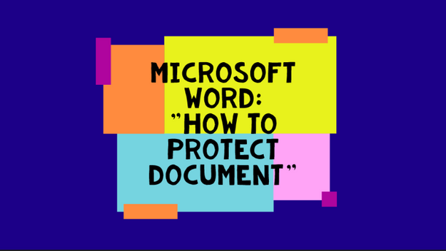 How To Protect A Document