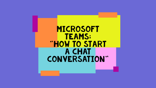 How To Start A Chat Conversation