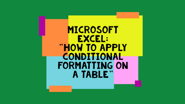 How To Add Conditional Formatting To A Sheet