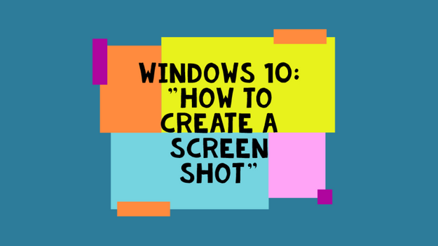 How To Grab A Screen Shot