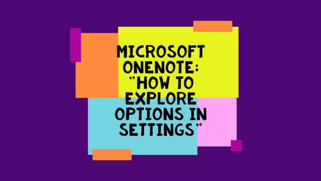 How To View And Change Options In Settings