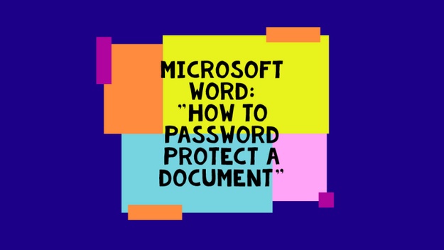 How To Password Protect A Document