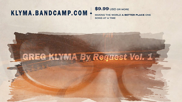 Greg Klyma By Request Vol 1