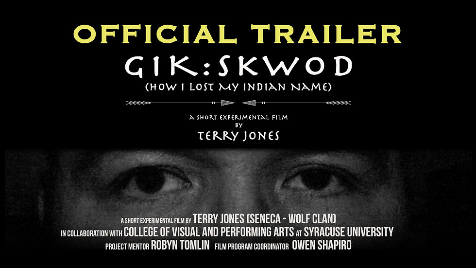 Gik:Skwod: How I Lost My Indian Name