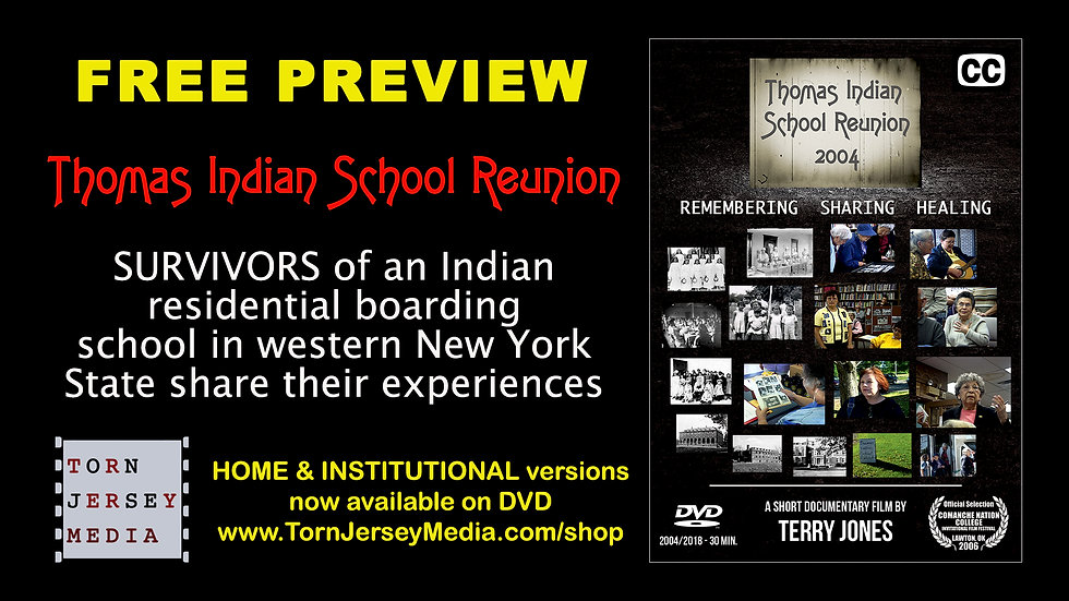 Thomas Indian School Reunion (2004) - 2018 Re-Edit