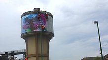 water tower time lapse