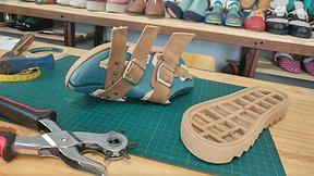 Sandals WorkShop (Eivi) - includes PDF patterns - WorkShop de sandalias- Incluye moldes en PDF