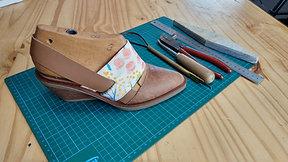 Pointed toe Workshop (Amaya) - Includes PDF patterns / Workshop Zapato en punta - Incluye moldes en PDF
