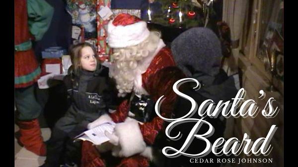From 'Vegan Nights' TV series. Santa's Beard