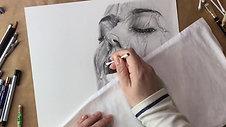 Portrett med vann