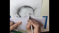 Drawing a baby - Art - Drawing 2018