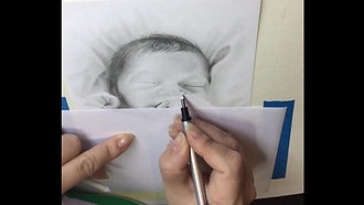 Drawing a baby - Art - Drawing 2018