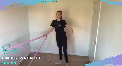 Grade 5 and 6 Ballet - Preview