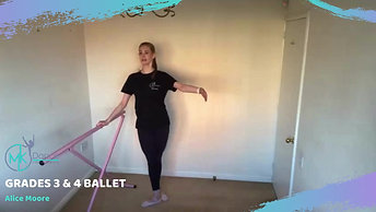 Grade 3 and 4 Ballet - Preview