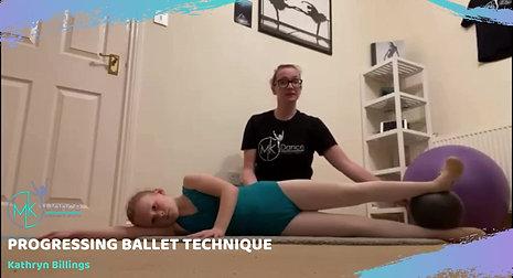 Progressing Ballet Technique - Preview