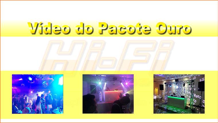 Pacotes DJ, Som e Luz - Hi-Fi Festas