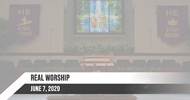 Sunday June 7, 2020