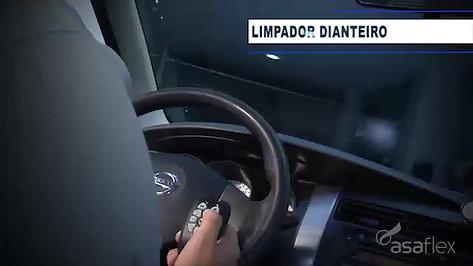 Comandos do painel no volante