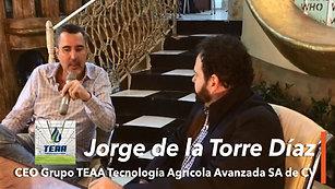 WhoIsWho entrevista a Jorge de La Torre