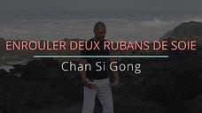 ENROULER DEUX RUBANS DE SOIE