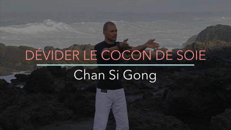 DÉVIDER LE COCON DE SOIE