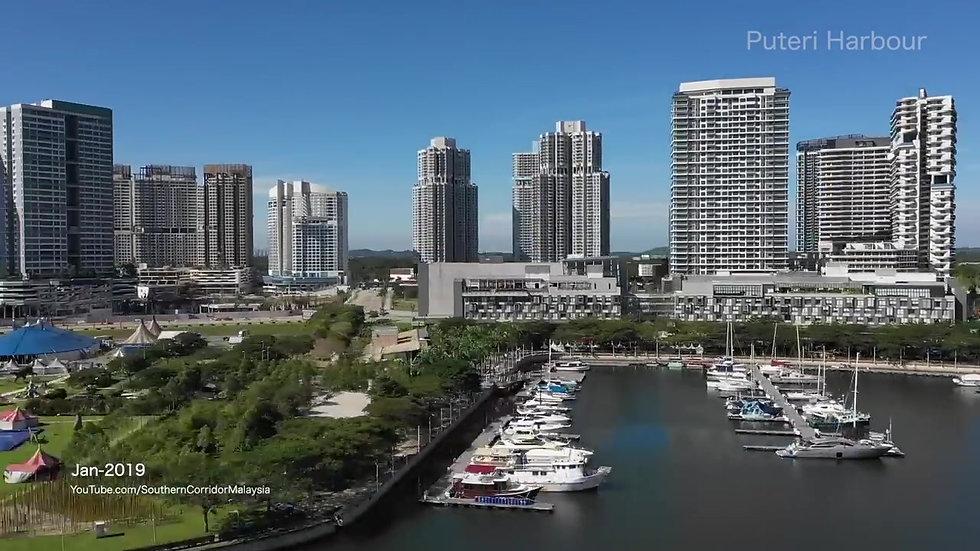 Puteri Harbour Iskandar Puteri Malaysia - Jan 2019