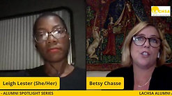 Leigh Lester and Betsy Chasse