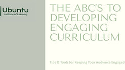 Growing Prevention: The ABCs to Developing Engaging Curriculum