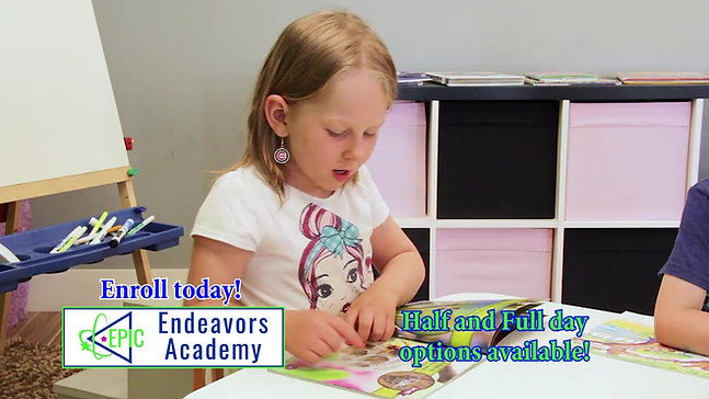 EPIC Endeavors PRESCHOOL