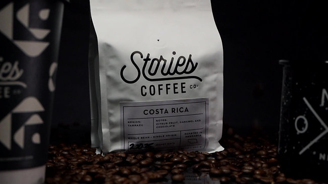 STORIES COFFEE CO PRODUCT SHOOT