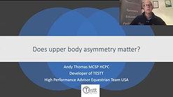 Does Upper Body Symmetry Matter? Webinar