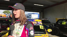 Lydia Walmsley Post Qualifying Interview - Snetterton