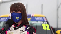 Lydia Walmsley - Thruxton Post Qualifying Interview