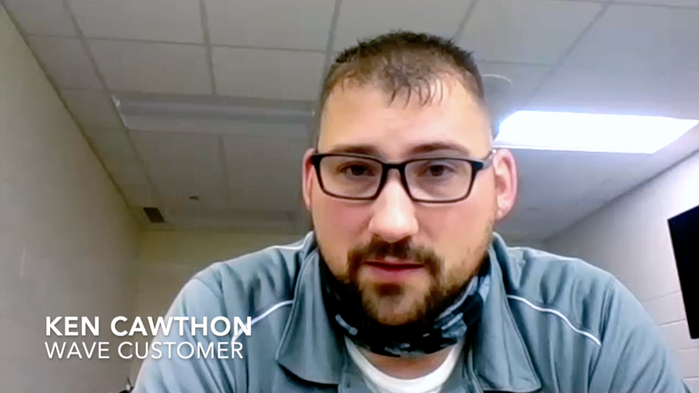 INTERVIEW WITH KEN CAWTHON, CUSTOMER