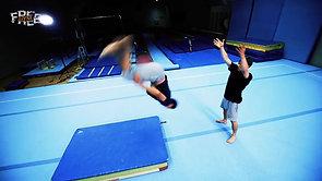 Freegym Voltit - akrobatiavoltti taakse