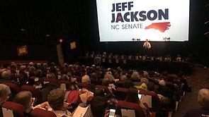 Jeff Jackson speaks to NoC members, 1/24/18 @ Lumina Theater