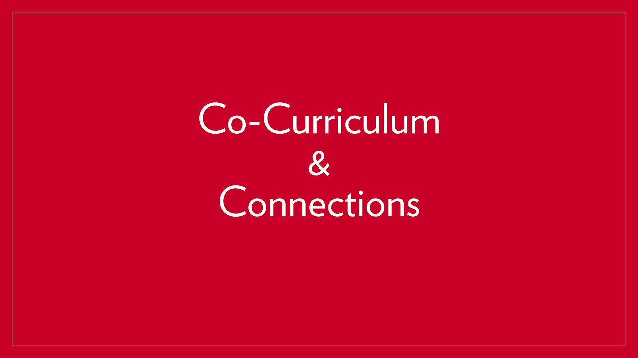 Co-Curriculum & Connections