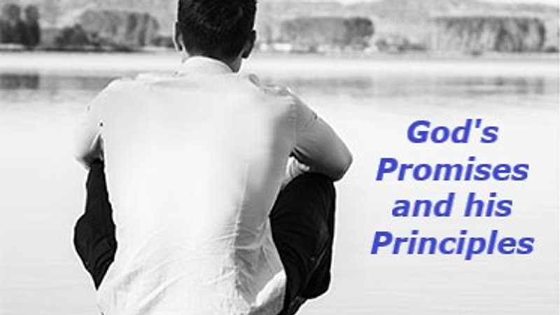 God's Principles and his Promises